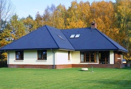 оригинальная конструкция вальмовой крыши