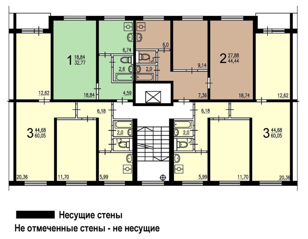 Квартира в доме II-49