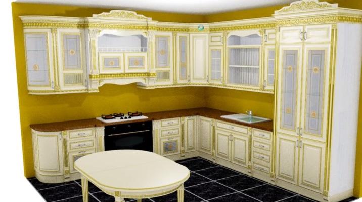 Готовый интерьер кухни