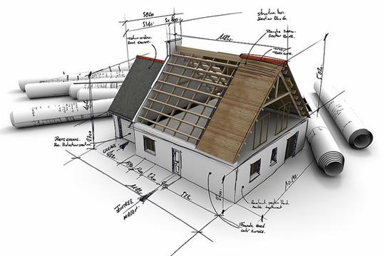 чертежи частного дома