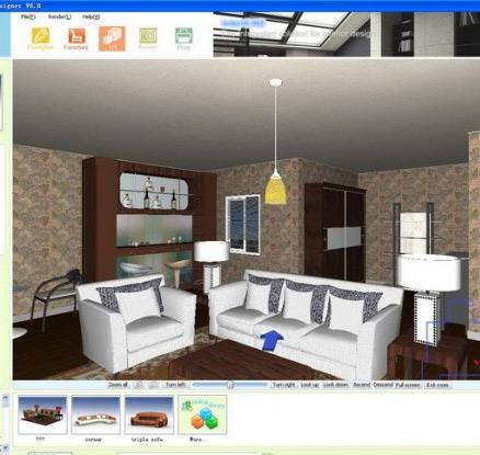 цвет и текстура квартиры