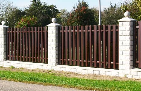 забор декоративные столбы