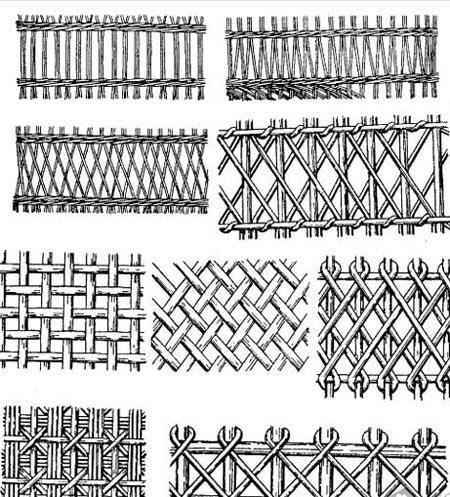 декор плетеная изгородь