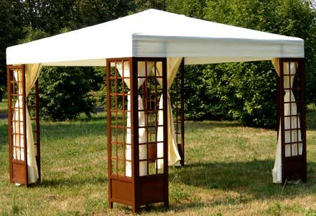 деревянный шатер
