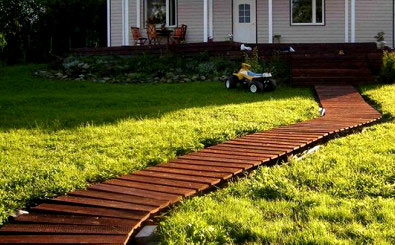 деревянная дорожка