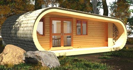 Captivating Das Ursprüngliche Projekt Des Mini Haus Aus Holz
