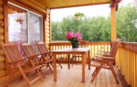 деревянная мебель для веранды