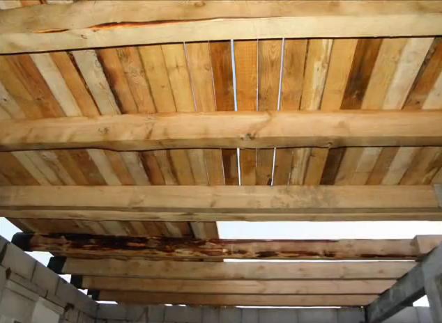 деревянные перекрытия в доме