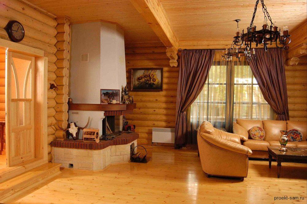 Внутренний интерьер дачного дома своими руками фото