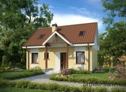 простой недорогой проект дома