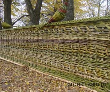 красивый дешевый забор