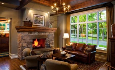 проект освещения гостиной в частном доме