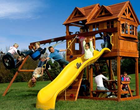 спортивная площадка для детей