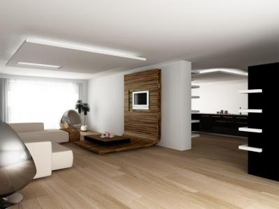 дизайн интерьера дома в стиле hi tech