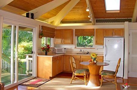 дизайн интерьера дачной кухни