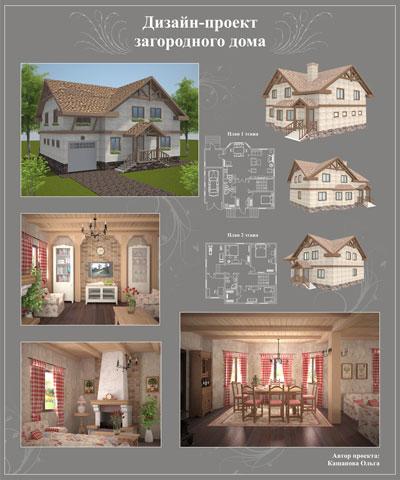 сделать дизайн проект дома - фото 7