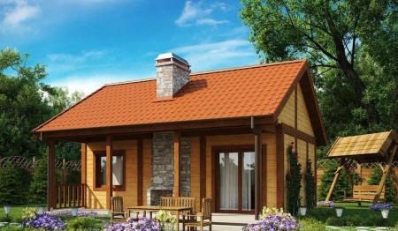 проект дома для сезонного проживания
