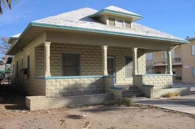 небольшой одноэтажный дом из керамзитобетонных блоков