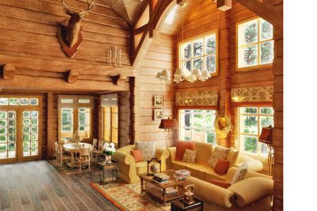 фото дома из норвежского лафета