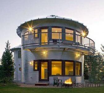 дом из металла