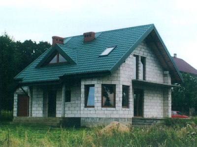 дом из сибита фото