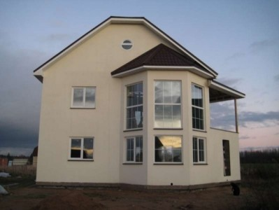 дом, построенный по технологии тисэ
