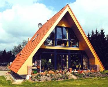 проект дома в стиле шалаша
