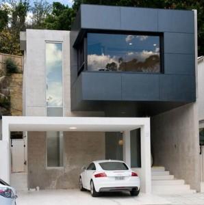 дом в стиле минимализм фото