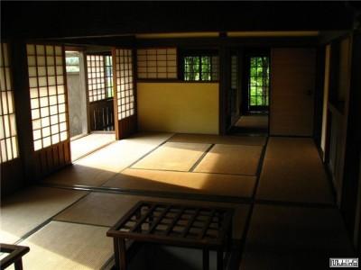 японский дом внутри