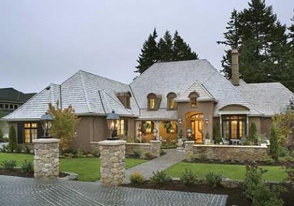 дом во французском стиле фото