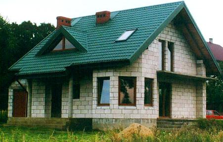 Проекты домов из пеноблоков с мансардой 8х8, 9х9 и других размеров