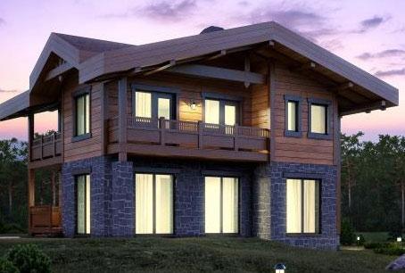 Балконы двухэтажных домов фото