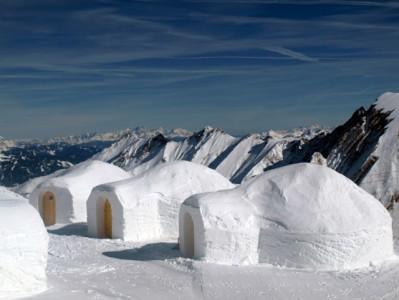 эскимосские дома из снега
