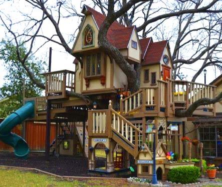 детский сказочный домик