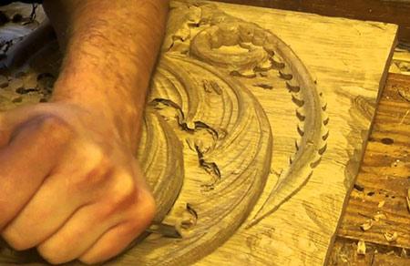 древесина для резьбы