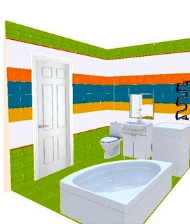 двери ванная комната