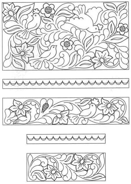 эскиз рельефная резьба