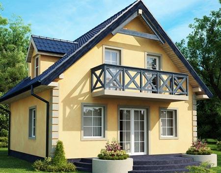 Mini Häuser Europäische Projekte Sind Große Glasfenster Für Die Dekorative  Wirkung Und Das Eindringen Von Licht. Sie Können Aber Auch Die Schmalen  Fenster ...
