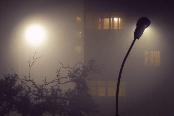 Освещение двора дома