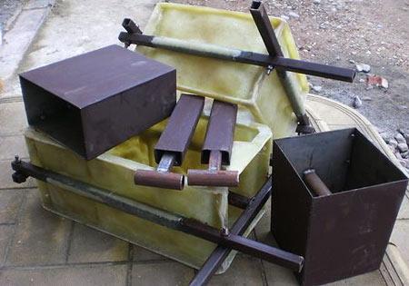 форма для блоков из стали