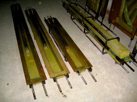 формы для заливки столбов