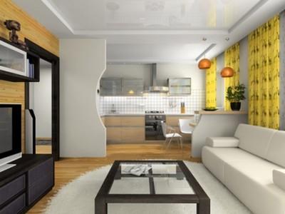 фрагмент стены в квартире