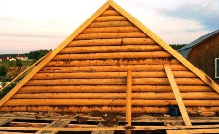 фронтон крыша