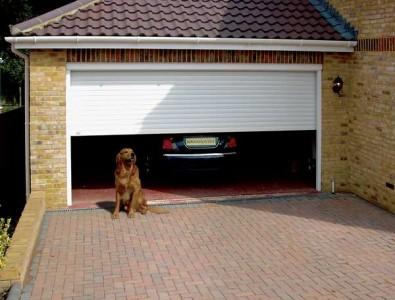 гараж в частном доме