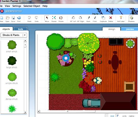 программа Garden Planner 3