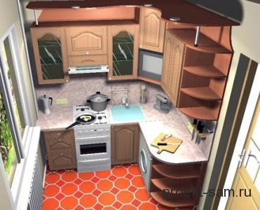 гарнитур для кухни на заказ