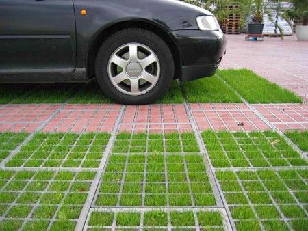 парковка-газон