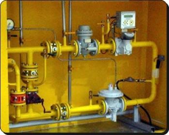 пункт регулировки подачи газа