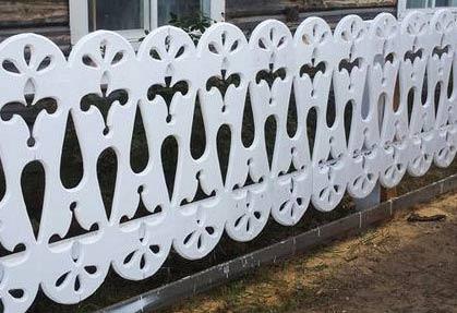 забор геометрическая резьба