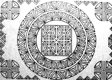 геометрический шаблон